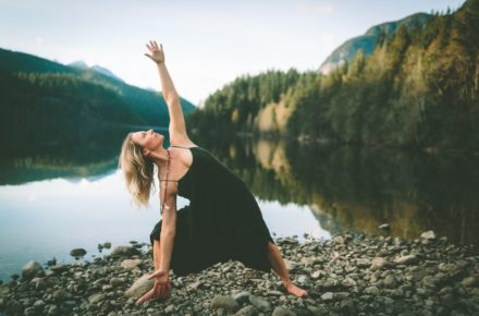 yoga with nature
